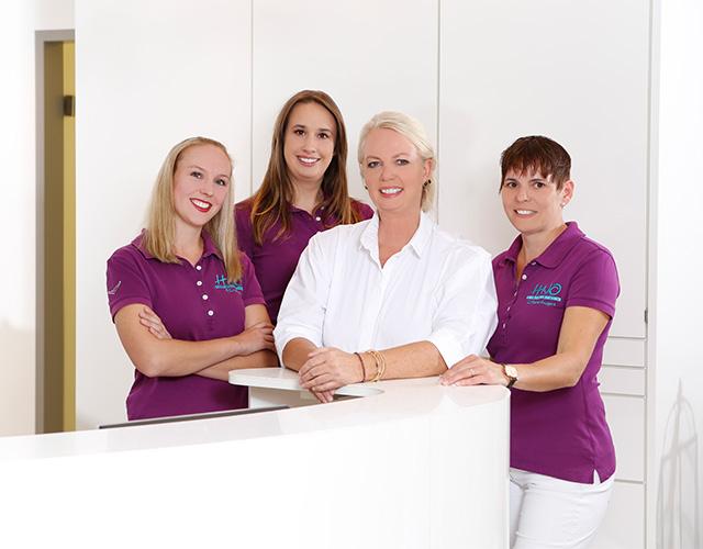 Praxisteam der HNO-Praxis Schiffmann in Göttingen